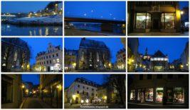 Die Stadt Meißen in der Nacht…und ein Theaterbesuch…