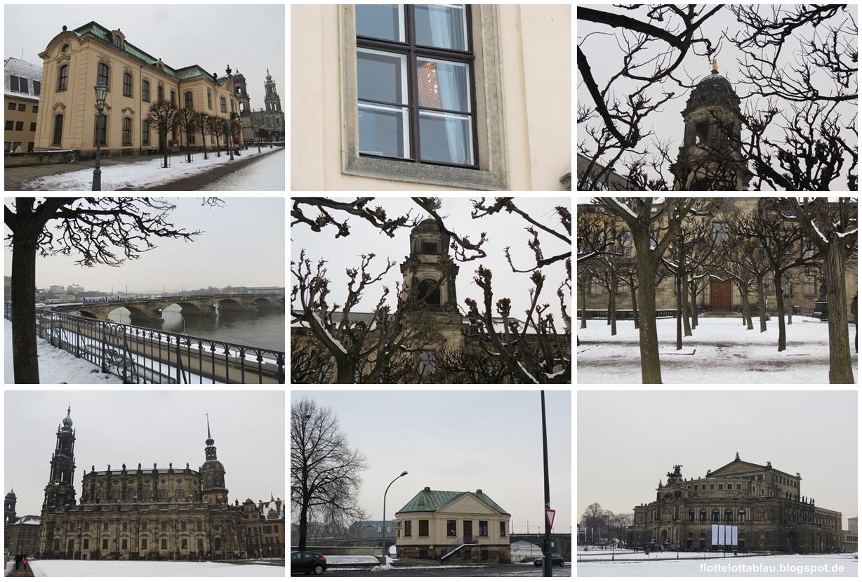 Winterlicher Ausflug nach Dresden…