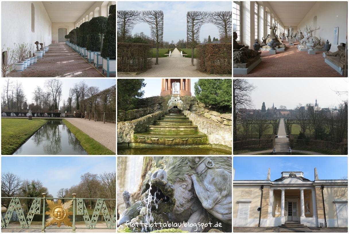 Der Schwetzinger Schlosspark, Teil II…