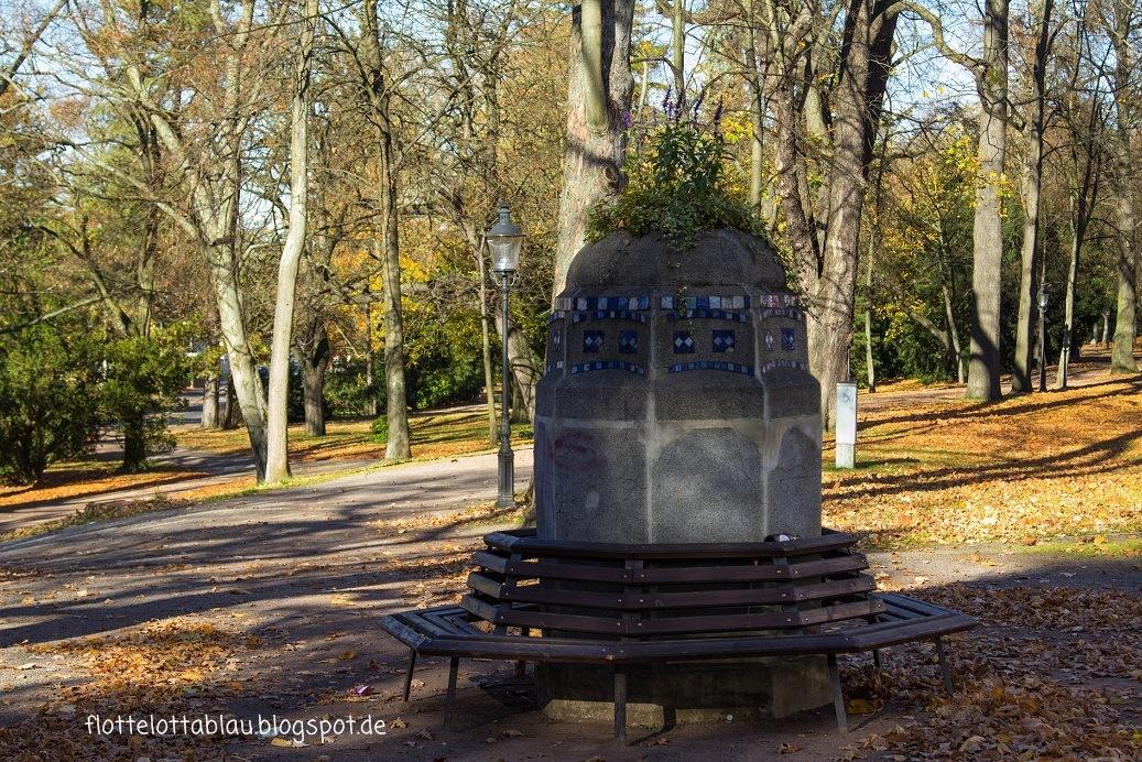 Albertpark in Freiberg