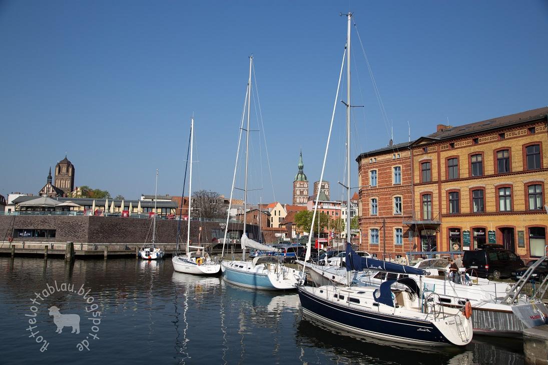 Die Stadt am Strelasund…