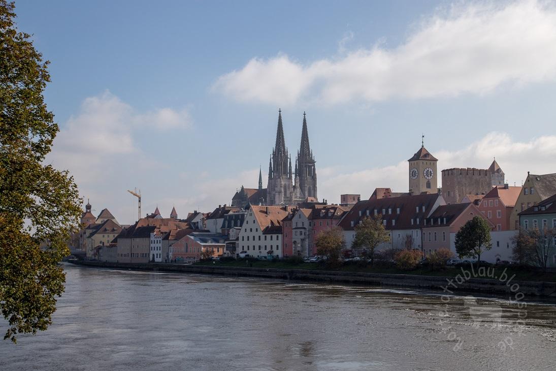 An der schönen blauen Donau…