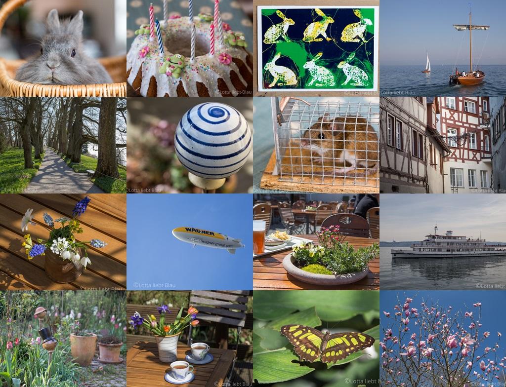 Monats-Collage April