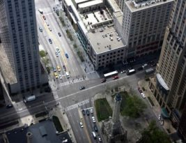 Great Top View Shot For European Modern Town