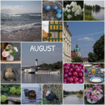 Monats-Collage im August