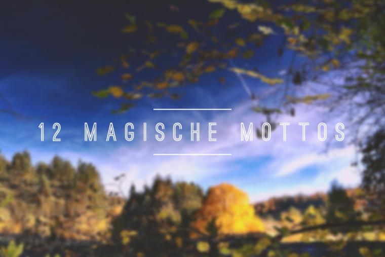 Magisches Motto im September