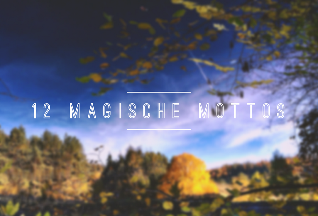 Magisches Motto im September