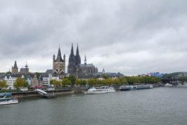 Köln im Regen…