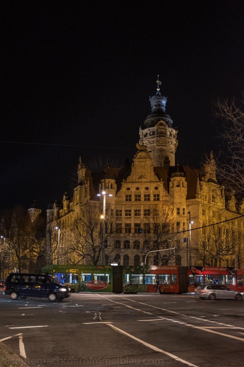 Leipzig bei Nacht