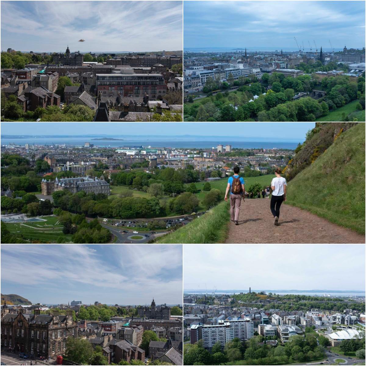 Edinburgh Rundblick