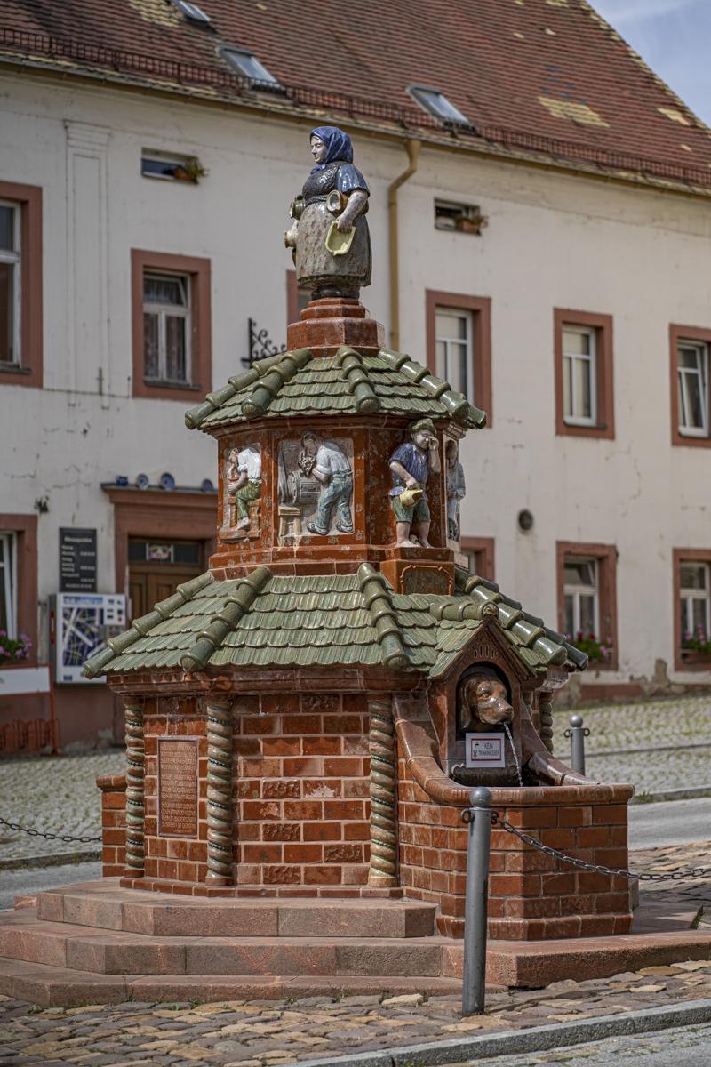 Töpferbrunnen Kohren-Sahlis
